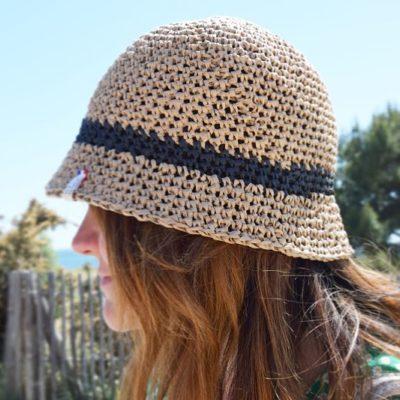 bob raphia naturel-chapeau paille femme-mignonnery