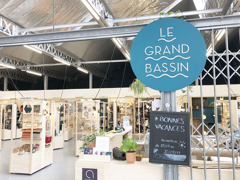 Intérieur Boutiques de créateurs le Grand Bassin- Roubaix